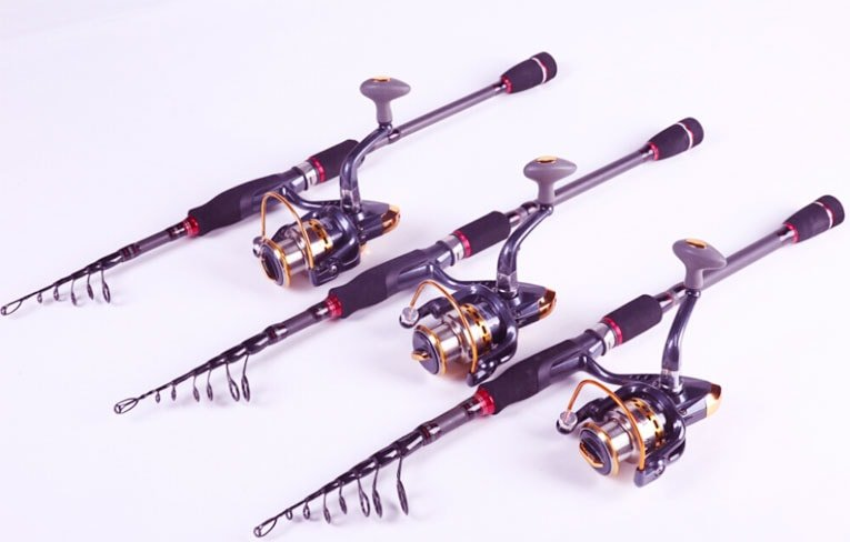  saltwater fishing rod and reels